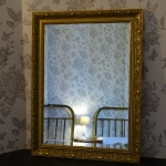 Room Monsieur - mirror of the smaller bedroom