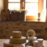 The range of farmhouse cheese