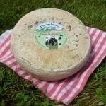 Hard cheese with cumin